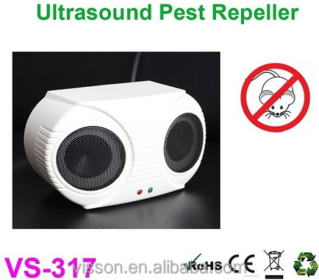 VS-317Bell and Howell ultrasonic dual speaker pest repeller, multiple pest repeller, sound wave mouse repeller