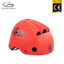 Fashion pink blue orange red funny helmet bike, high professional custom sport new model helmet