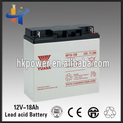 Deep cycle 18ah Sealed Dry battery