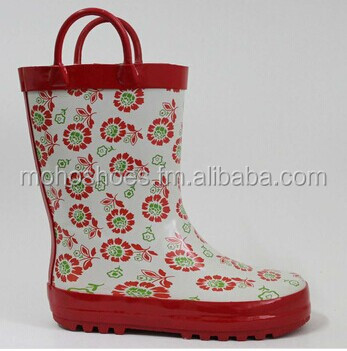 Girl's new design fresh wellies