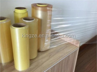 Plastic food packaging cling film with biodegradable