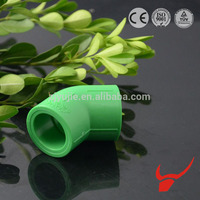 PPR pipe raw material gi pipe fittings socket 45 degree pipe bend