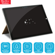 Hot Sell 2.5D Laptops HD Tempered Glass Guard 9H Screen Protective Film for Microsoft Surface 3