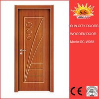 SC-W058 wholesale wood door designs in pakistan,exotic wooden door