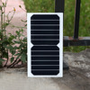 6W 6V High Efficiency Sunpower Cells PET Laminated Solar Panel