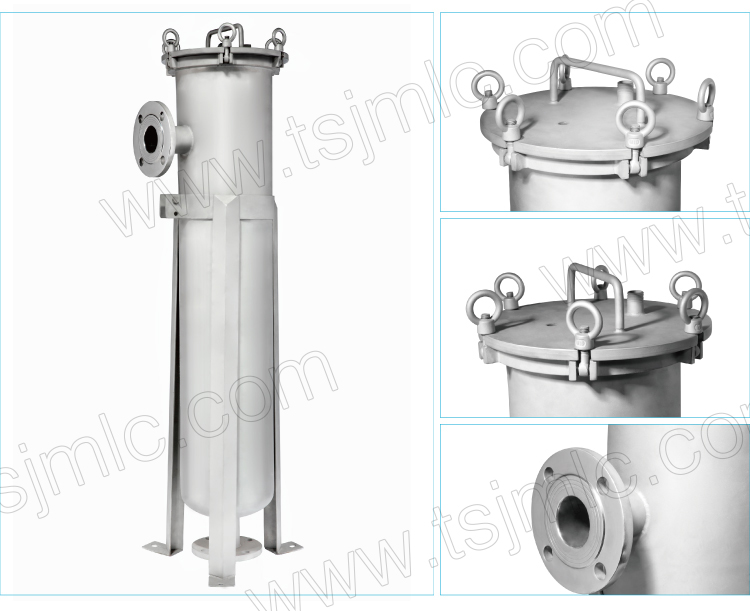 Good Quality High Efficiency High Pressure and High Temperature Bag Filter for liquid filtration