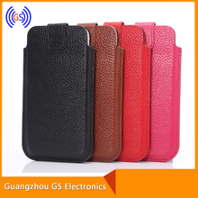 Customized universal smart phone wallet style leather case phone leather case for blu quattro 4.5