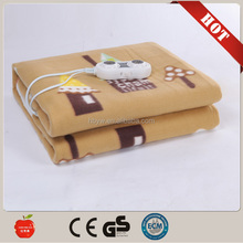 New portable Electric blanket 220v with timers from china factory with low price