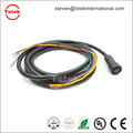 M14 waterproof IP67 6Pin Connector to TE AMP 770854-3 770520-3 FSD76-8-D custom automotive wire harness