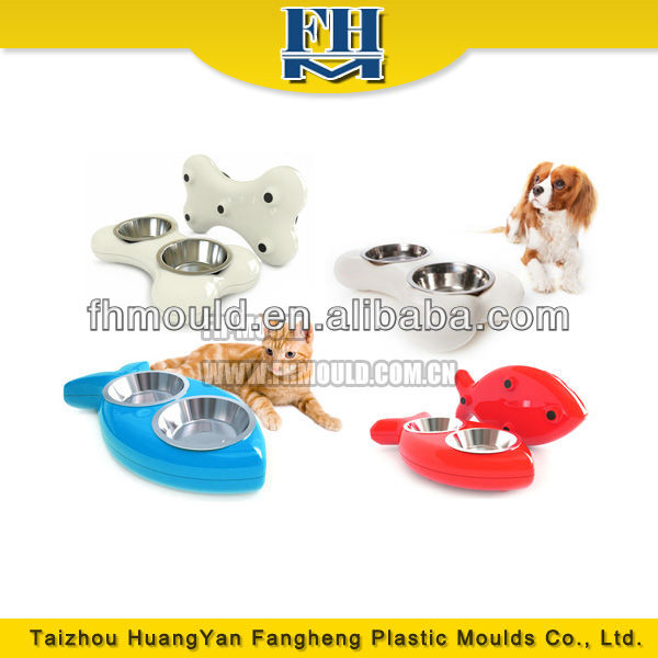 plastic bowl molding for pet