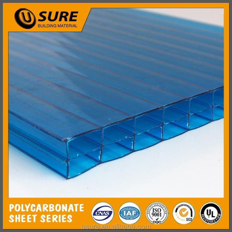 better cold resistance uv-protected polycarbonate price for sound barrier walls
