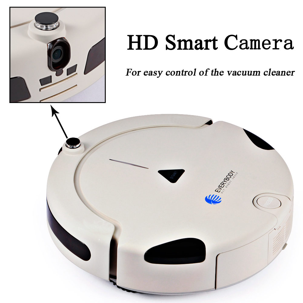 2016 Functional home appliance robotic vacuum cleaner, smart vacuum cleaning robot competitive price