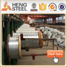 0.8mm-3.5mm Hot dipped galvanized steel wire for Armored cable