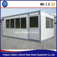 2016 container house/Venezuela and Colombia hot sale prefabricated camp container house