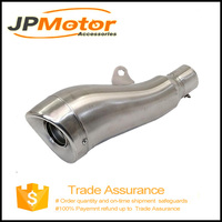 Universal Factory Price GP Stainless Steel Exhaust Muffler js racing titanium exhaust muffler for sale