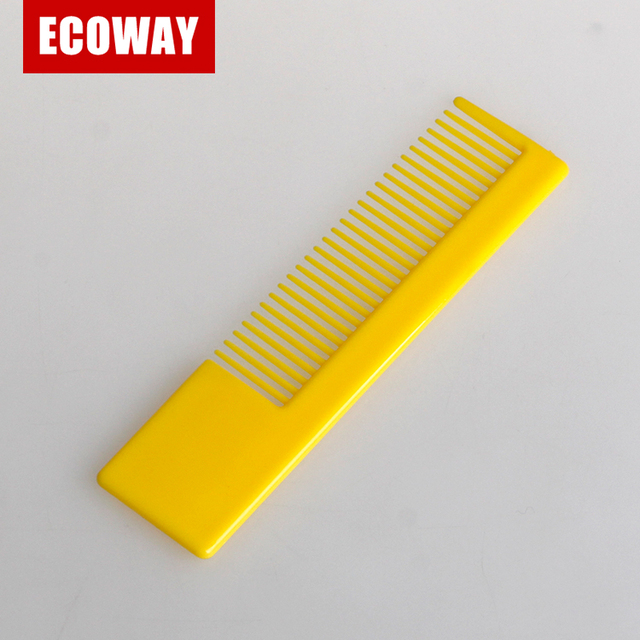 hotel custom pocket plastic biodegradable hair combs