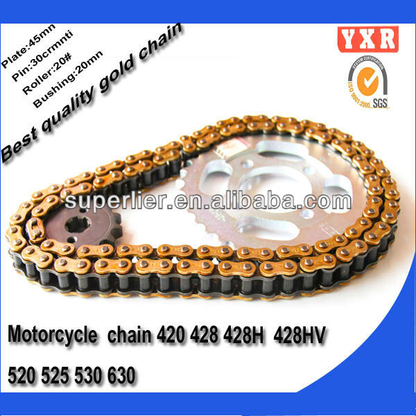 Motorcycle chain,motorcycle chain and sprocket ,45mn motorcycle racing chain