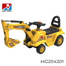 Best price high quality battery operated baby car kids ride on toy excavator car for sale HC254201