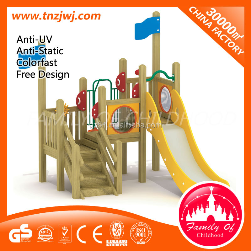 commerical kids wooden outdoor play equipment outdoor toys for sale