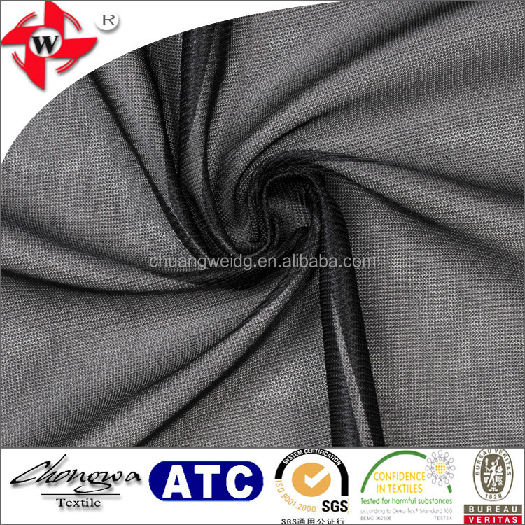 very lightweight tricot (also known as tricot lining) polyester fabric for track and field uniforms