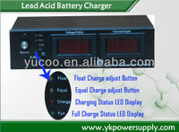 220v to 12v 24v Automatic Intelligent Battery Chargers 6A 10A 20A