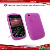 Cheap silicon mobile skin for blackberry 8520 carve