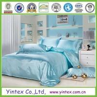5-star hotel 100% silk duvet cover set,bed linen
