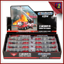 1:50 diecast toy ladder fire engine ZDZ185255