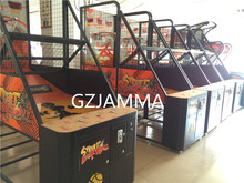 low price basketball shooting gun machine arcade game machine with Led