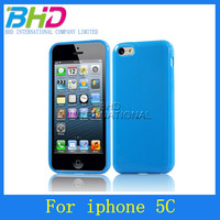 TPU Jelly soft cover for iphone 5c case