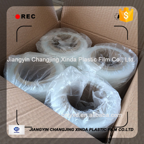 2016 Best sales LLDPE stretch film with wrapping film or pe stretch film for pallet wrapping