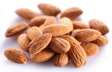 Raw california almond nuts almond prices for sales