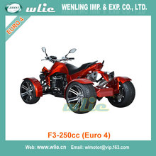 Hot Sale rough terrain vehicle road quad motorcycle motor F3-250cc, 350cc (Euro 4)