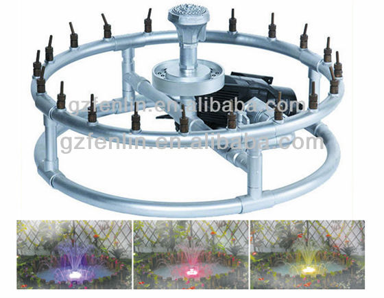 Small size 0.68m-2m garden fountain indoor dancing water fountain
