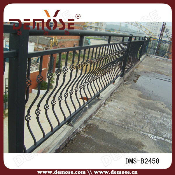 low price deck wrought iron railing for sale