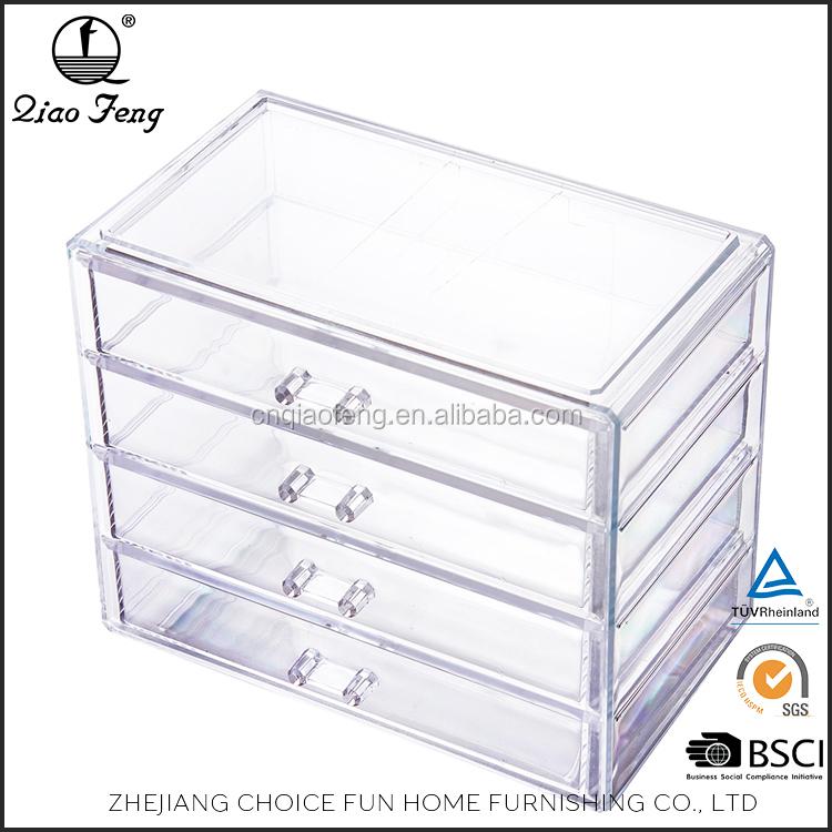 Grille conception acrylique tiroir de rangement maquillage organisateur id de produit - Rangement tiroir acrylique ...