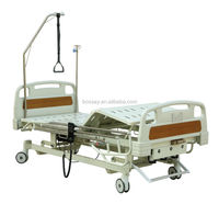 BOSSAY Three-function Electric & Manual Adjustable Hospital Bed