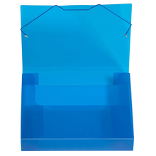 Plastic Filing Case A4 Size PP Elastic Band Filing Document Boxes File Folder
