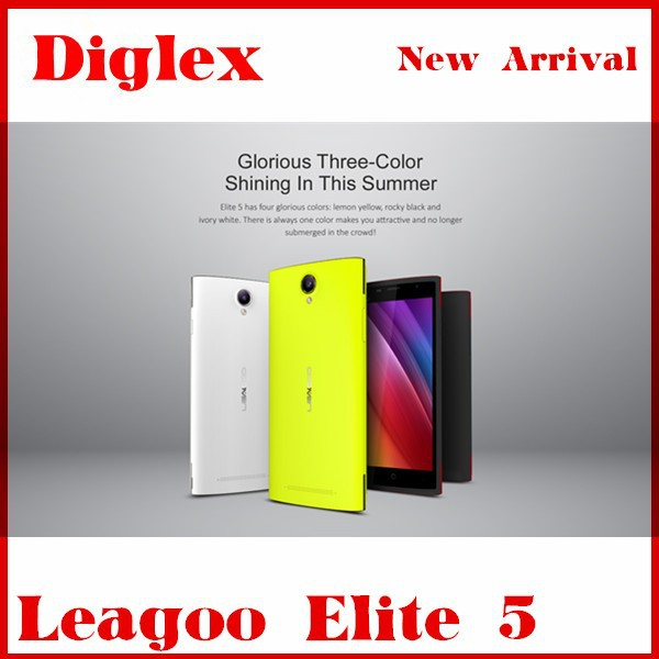 New Product Leagoo Elite 5 Android 5.1 2GB/16GB MTK6735 WIFI Multialnguage Play Store Mobile Phone