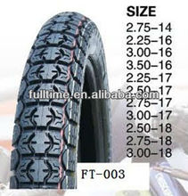 3.00-17,3.50-16 3.00-18 motorcycle tyre tire with nature tube/butyle tube