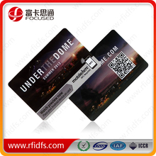 13.56mhz contactless smart card programmable and customized pvc