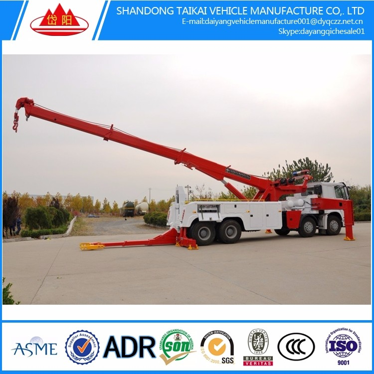 heavy tow factory tow flatbed electric motor wrecker towing truck