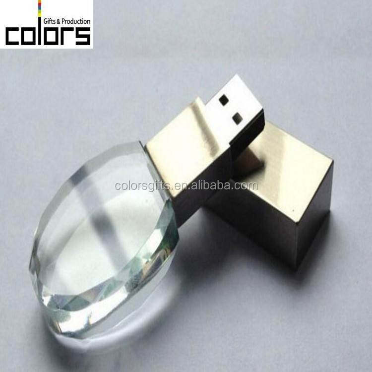 Custom Design Unique Styling Large Capacity Durable Crystal <strong>USB</strong>