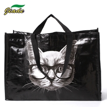 Factory audit Eco-friendly custom cheap PP laminated gift tote woven shopping bag