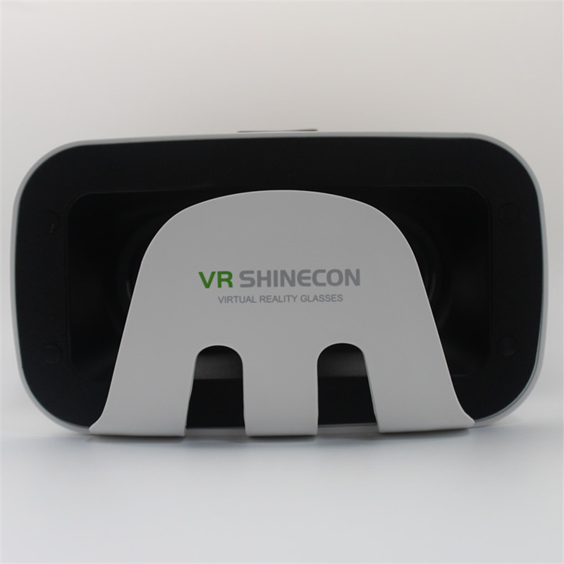 VR Shinecon virtual reality glasses Movies Games veiwing 3D glasses VR Box For 3.5 to 6.0 inch Smartphone