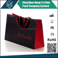 Packing Factory Matte lamination Paper Euro Tote Bag with Hot Stamping Logo