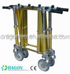 DW-TR004 aluminium mortuary transport coffin trolley