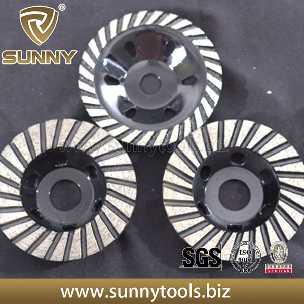 Diamond abrasive cutting disc wheel for granite
