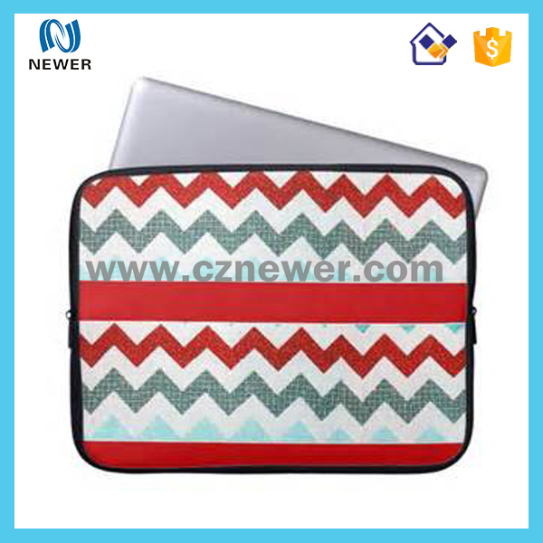 High Quality Promotional travel soft custom neoprene laptop sleeve