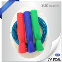 High quality steel wire speed crossfit jump rope/pvc skipping rope